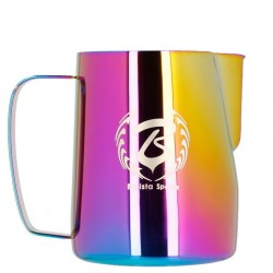 Milk Jug/ Pitcher BARISTA SPACE - KAMELEON Rainbow, 350ml - Latiera Metal