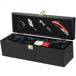 DeLuxe GIFT BOX for Wine Bottle (Accessories Included)