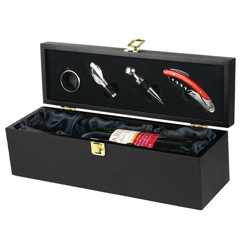 SET Cadou DeLuxe - pentru Vin (cu Accesorii incluse)