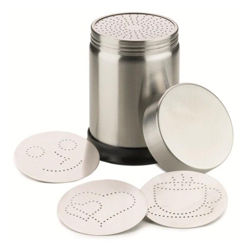 DeLUXE Cocoa / Cinnamon Dispenser [MOTTA] with 4 Figures