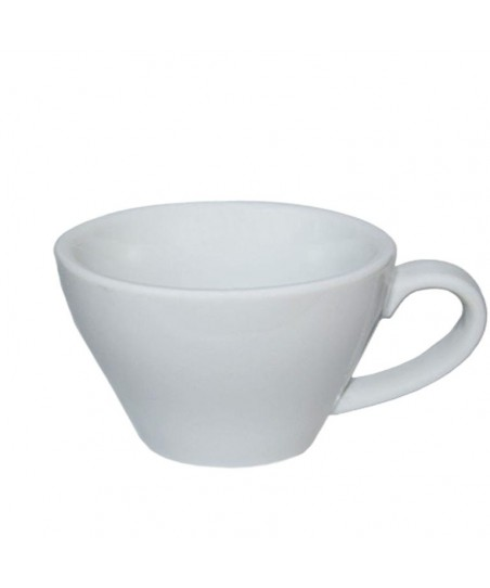 CAPPUCCINO Cup -  WHITE Porcelain, 180ml