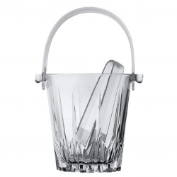 Ice Bucket KARAT with Tong (Glass)