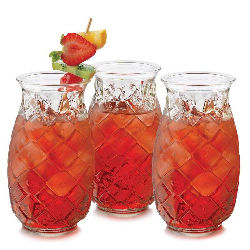 TIKI - LIBBEY Pineapple, 460ml (Glass) 56880