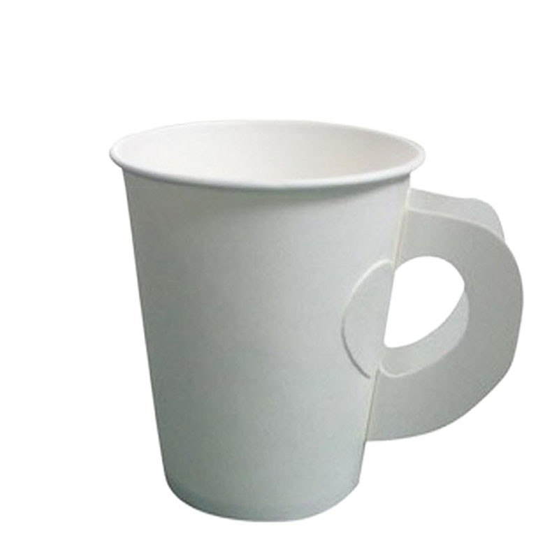 Take Away Paper Cups - 6 .5oz with HANDLE (50pcs)