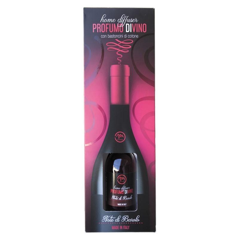 Parfum de Camera cu Betisoare - Miros de VIN Barolo, 125ml (in Cutie Cadou) - Difuzor Arome