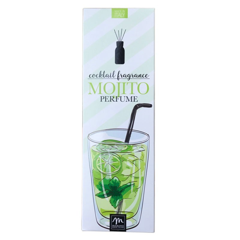 Room Fragrance with Chopsticks - Smell of MOJITO, 125ml (in Gift Box)