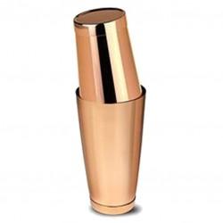 Boston Shaker TIN +TIN (MEZCLAR), Rose Gold