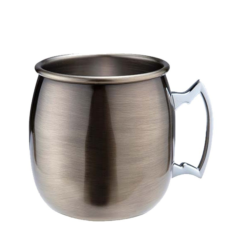 MOSCOW MULE Cocktail Mug 500ml (ANTIQUE), Vintage  - Cana Metal