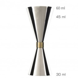 Jigger Mr SLIM 30 /60ml (ORIGINAL) - Masura Bar, din Metal