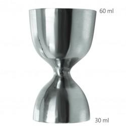 "Jigger BELL 30 /60 ml ""47 RONIN"" (ProBAR) - Masura BAR, din Metal"