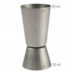 Jigger CLASIC 25 /50 ml - Masura BAR, din Metal