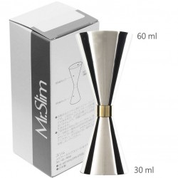 Jigger Mr SLIM 30 /60ml (ORIGINAL) - Gold Banded
