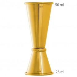 Jigger GINZA 25 /50 ml, Gold (UrbanBAR)