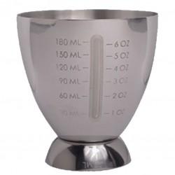 Jigger MAXI 20 /180 ml [47 RONIN] - Masura BAR, din Metal 00989