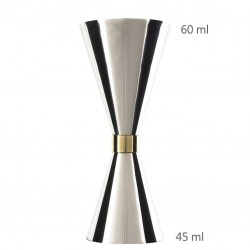 Jigger Mr SLIM 45 /60ml (Replica) - Masura Bar, din Metal 600219