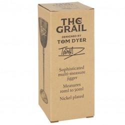 "Jigger ""The Grail"" 10 /50 ml (TOM DYER) - Masura BAR, din Metal"