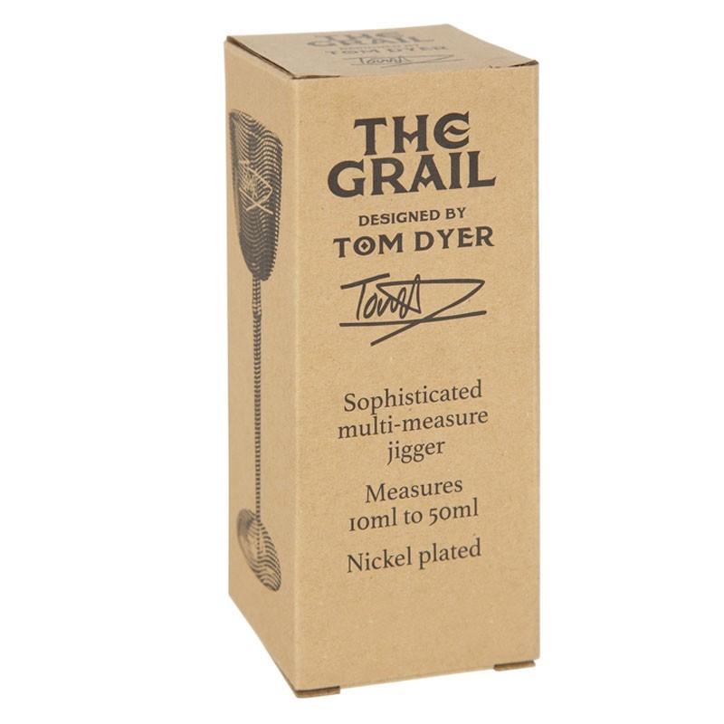 "Jigger ""The Grail"" 10 /50 ml (TOM DYER) - Carton Box"