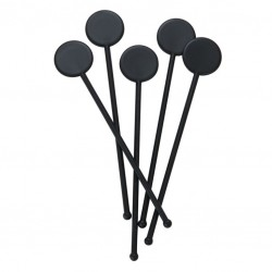 Cocktail Stirrers with Disc, (Different Colours) 250pcs /set