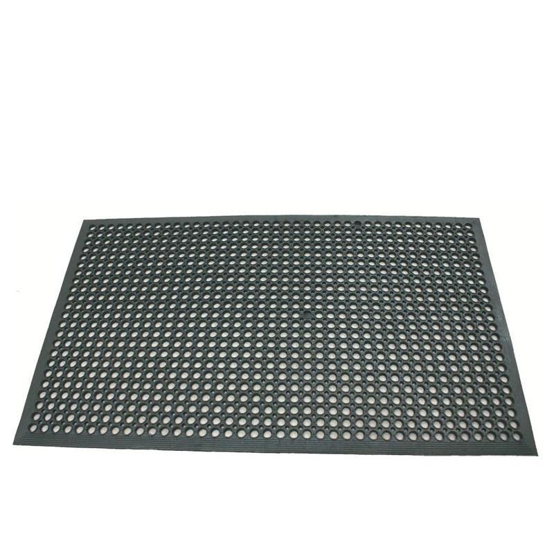 Floor Mat - Black Rubber, 152 .5 * 92 .5cm 9980152