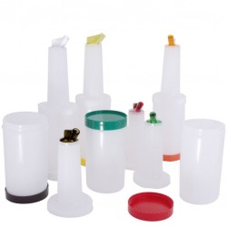 STORE'N POUR Bottle - Plastic Container (Different Colors) 0 .95 L