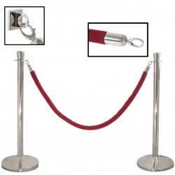 Crowd Control (Barrier) - Red Rope, 2m