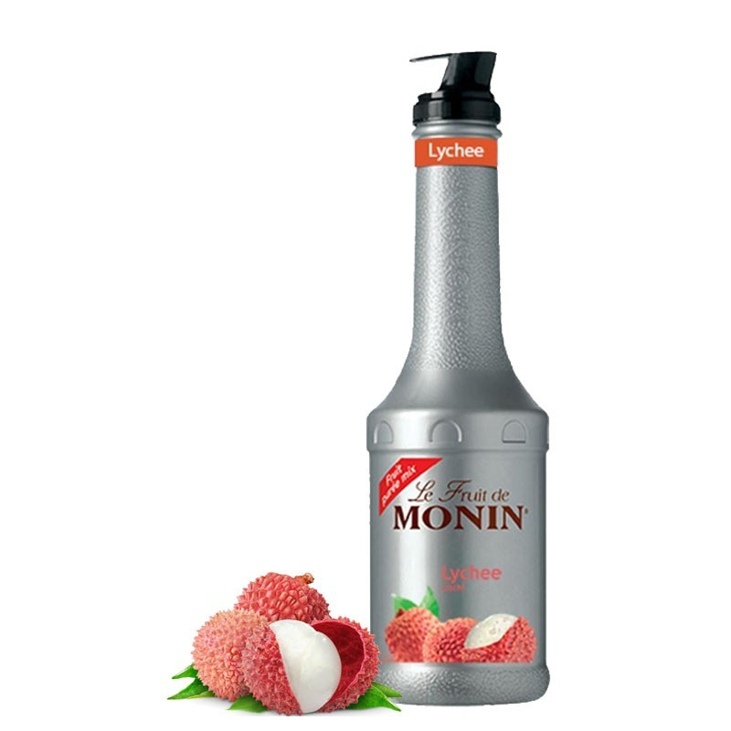 Piure LYCHEE/ LITCHI - Pulpa Fructe MONIN