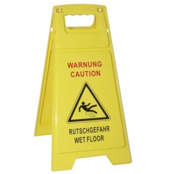 """WET FLOOR"" Indicator / Warning Sign"