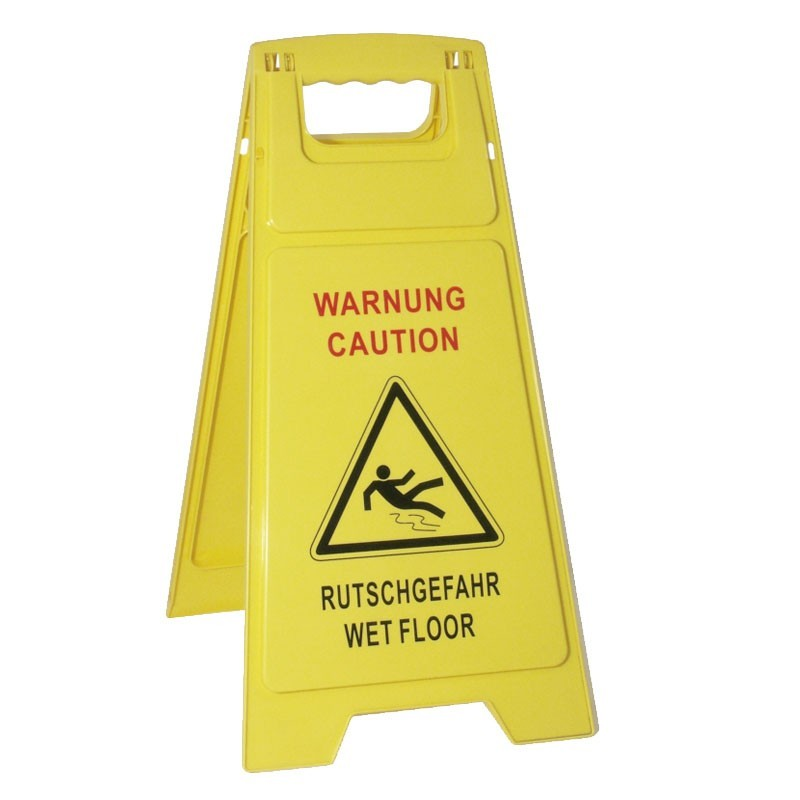 """WET FLOOR"" Indicator / Warning Sign"
