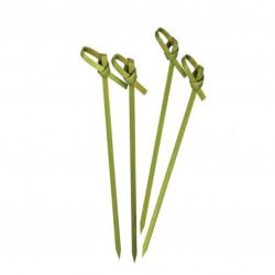Bamboo Skewers - SWORD Looped, 100pcs