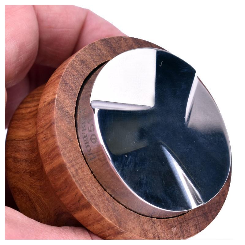 Macaroon Distributor [JoeFrex], Palm-Tamper - (Ø 58) PALISANDER wood