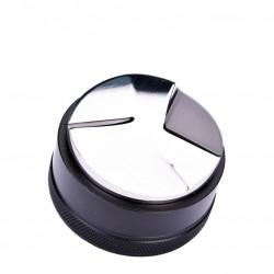 Macaroon Distributor [JoeFrex], Palm-Tamper - (Ø 58) Black