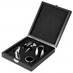 THE WINE CONNOISSEUR - Gift Set (Accessories Included)