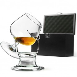 DeLuxe GIFT SET - Cognac & Brandy WARMER (Accessories Included)