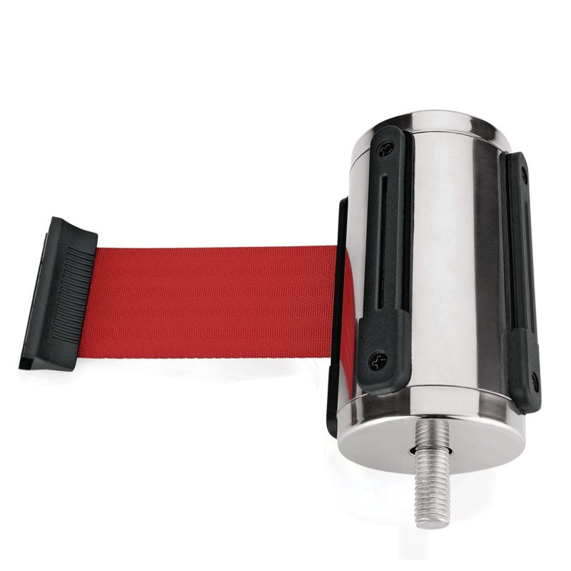 BELT STRAP (Replaceable) for Barrier Post HIGHFLEX - Crowd Control, 2m RED