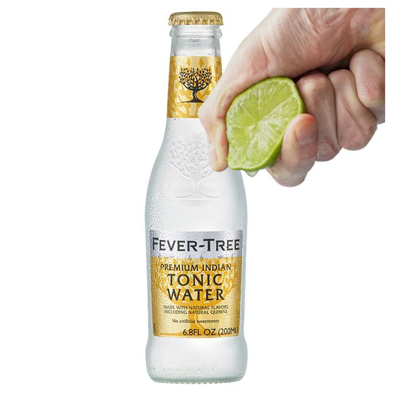 Fever Tree PREMIUM INDIAN TONIC, sticla 200ml - Apa Tonica