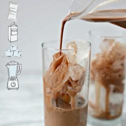 CIOCOLATA RECE - Pudra PREMIUM (Diferite Arome) Plic, 30g - ICE Chocolate