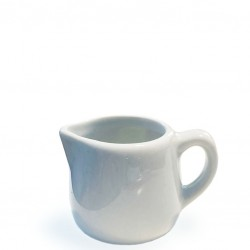 Milk Jug /Creamer - White PORCELAIN, 30ml