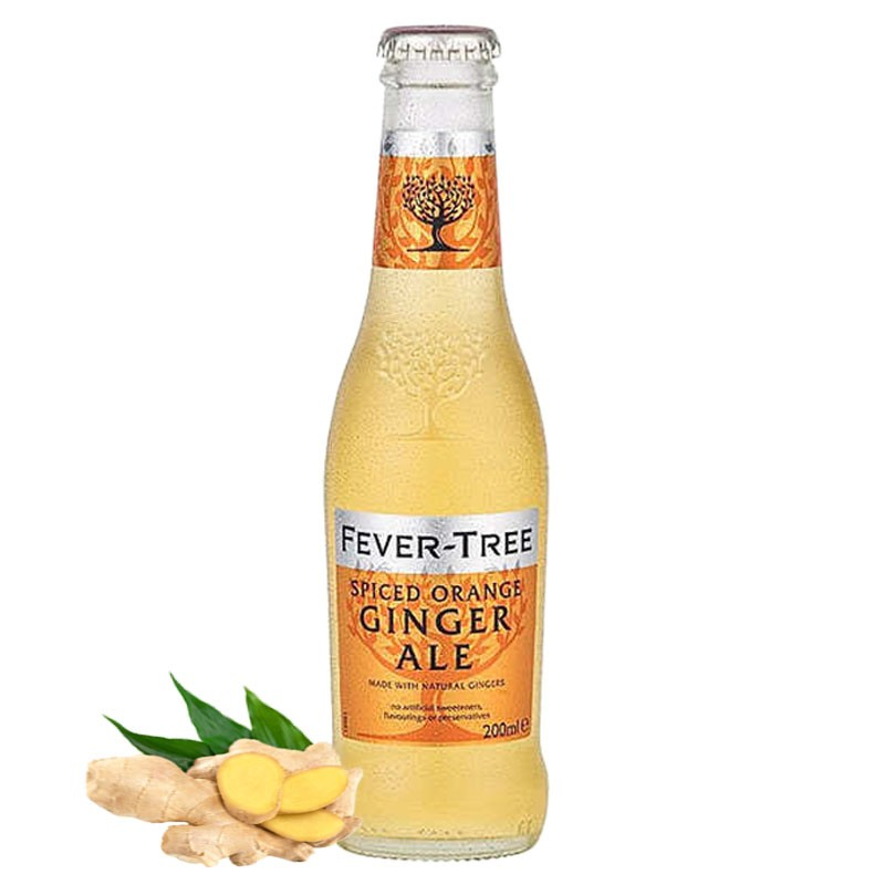PREMIUM GINGER ALE [FEVER TREE] 200ml - Soft Drink