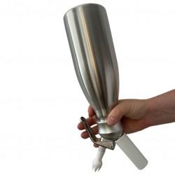 WHIP Creamer Siphon [KAYSER] 1L (STAINLESS STEEL)
