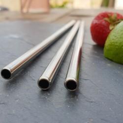Paie Metal DREPTE - INOX, Refolosibile (Diferite Lungimi)