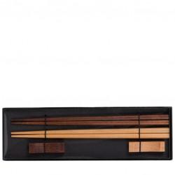 SET Cadou - 2 Perechi Betisoare Asiatice din Bambus, pentru Sushi
