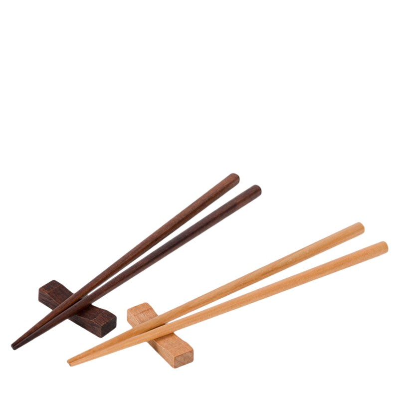 Gift SET - 2 Pairs Asian Bamboo Chopsticks, for Sushi