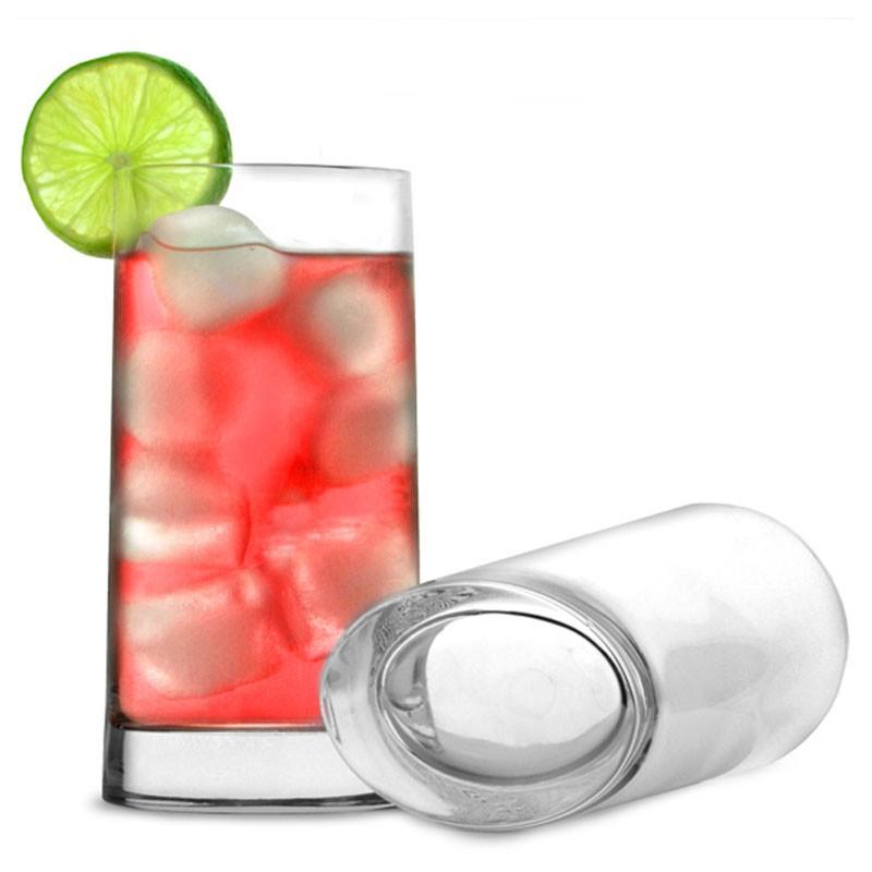 VERONESE Beverage glass [LUIGI BORMIOLI] oval shape (Crystal)