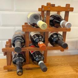 FOLDABLE - Wine Rack, WOOD