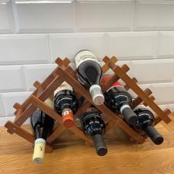 Suport Sticle - PLIABIL, din LEMN