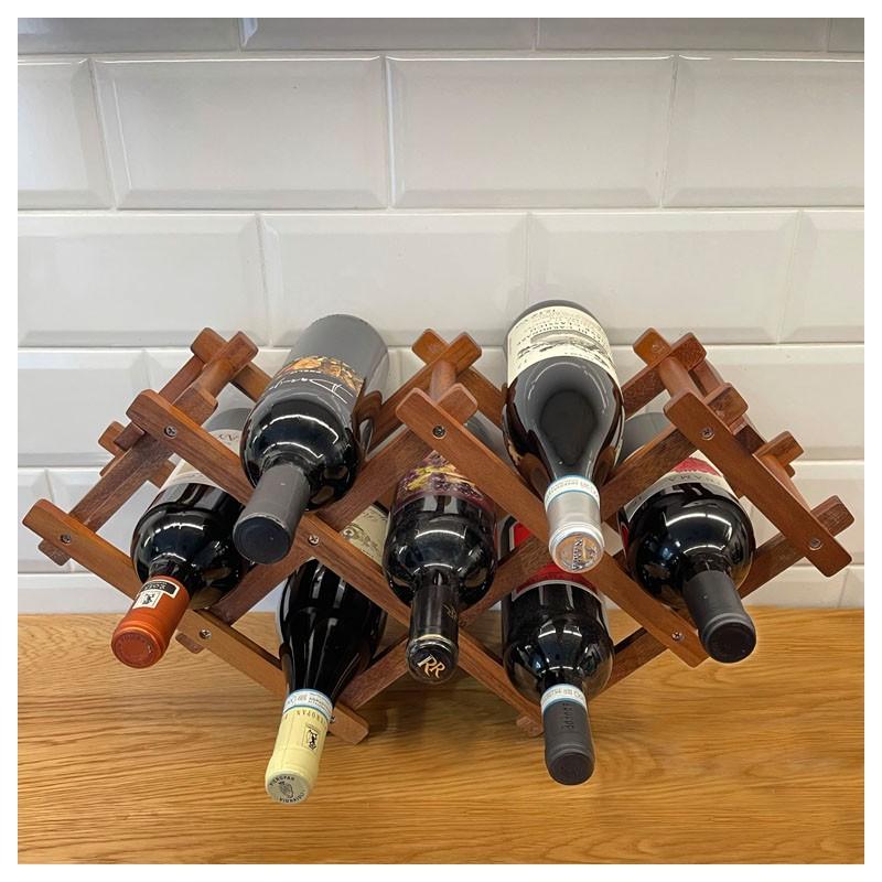 FOLDABLE, Wood - Wine Rack