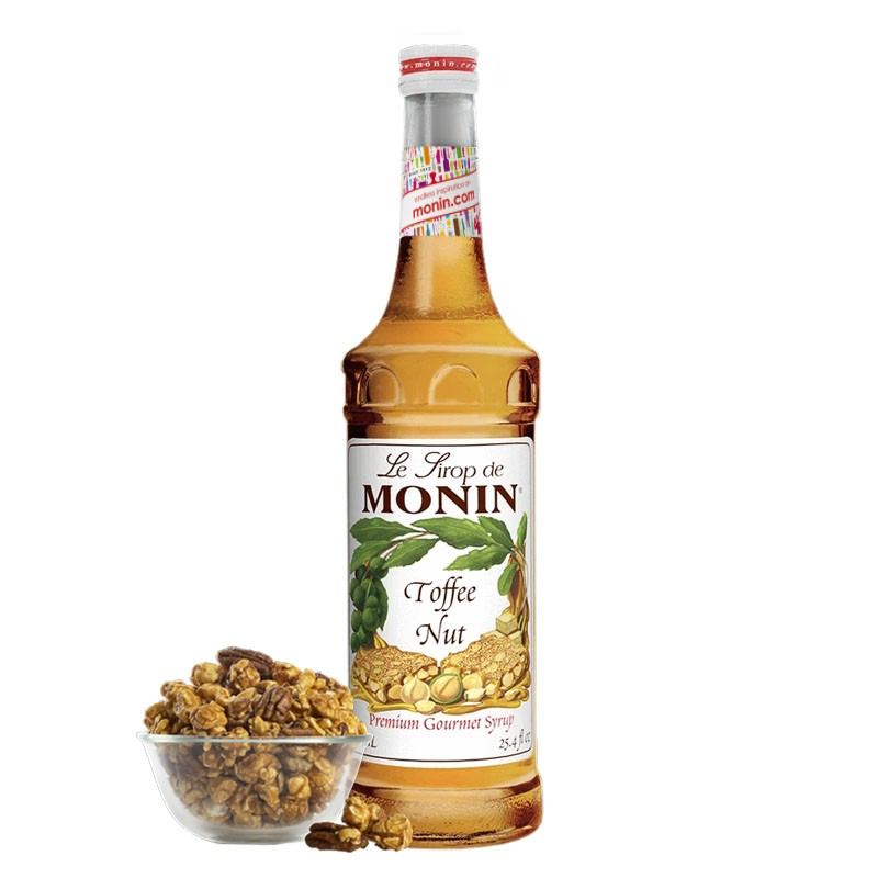 TOFFEE NUT Syrup [MONIN] 0,7L