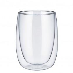 THERMO ENJOY Tea/ Latte Glass - with Double Walls, 340ml