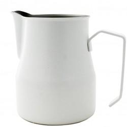 WHITE Milk Jug [MOTTA] 500ml - Barista Pitcher