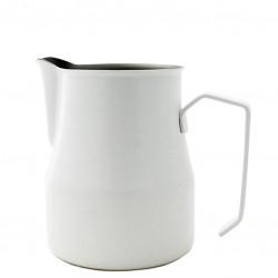 WHITE Milk Jug [MOTTA] 350ml - Barista Pitcher